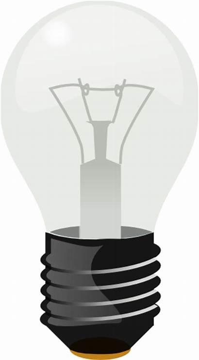 Bulb Clipart Clip Lightbulb Vector Dull Svg