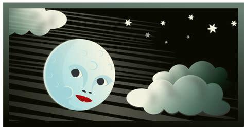 Cartoon Moon Clouds Clip Art At Clker.com
