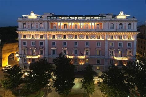 hotel roma in rome grand hotel flora italy booking