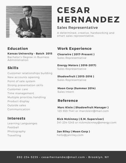 Resumes With Photo by Customize 338 Minimalist Resume Templates Canva