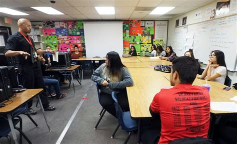 Nevada Jag Teacher Inspires At-risk Students To Excel In