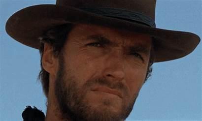 Eastwood Clint Cowboy Fistful Dollars Gifs Western