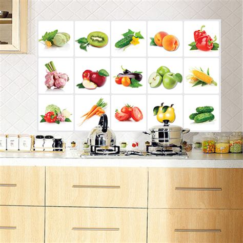 wall stickers wholesale ay3019 paste vegetable fruit