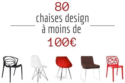 ikea cuisine blanche chaise design pas cher 80 chaises design à moins de 100