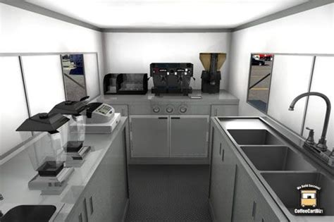 food truck kitchen design coffee truck interior for my mobile cafe 3507