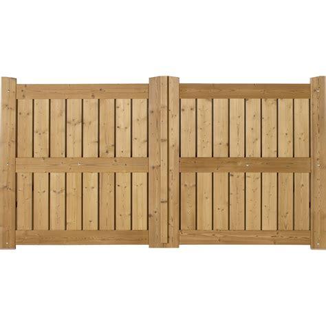 portail battant en bois le porge l 350cm couleur naturel