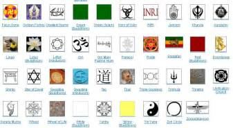 Major Religions Of The...Religions Of The World Symbols