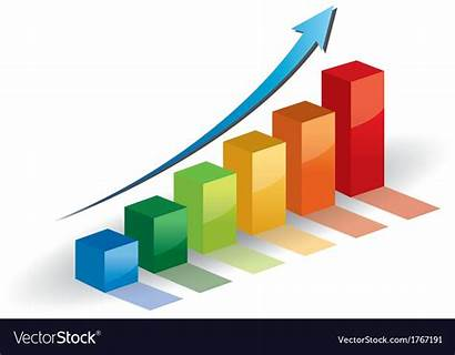 Graph Growth Arrow Progress Business Vector Royalty