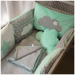 Tour De Lit Bébé Nuage : 25 best ideas about tour de lit on pinterest bebe bebe ~ Melissatoandfro.com Idées de Décoration