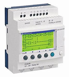 Zelio Logic Smart Relay With Clock Sr3b101bd