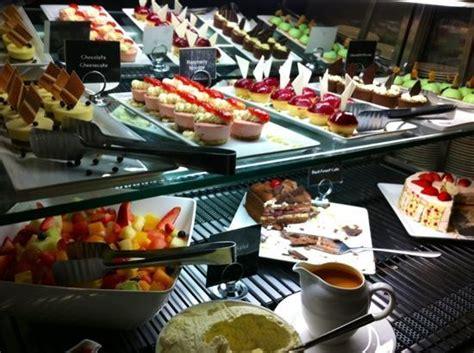 desserte bar cuisine dessert bar picture of windows restaurant melbourne