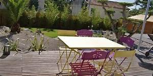 amenagement d39un jardin paysager avec piscine avignon With photo amenagement paysager exterieur 6 realisations de piscines creusees en beton piscine