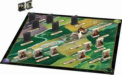 Confrontation Lord Rings Board Lotr Layout Games