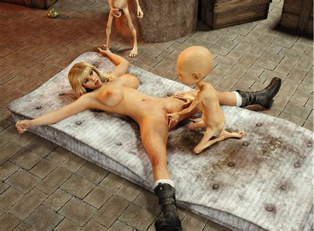 #Small #And #Tireless #Monsters #Fuck #A #Pretty #3D #Chick #At