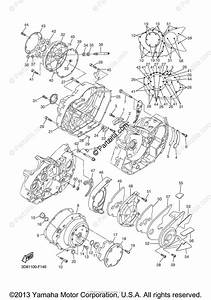 Yamaha Motorcycle 2009 Oem Parts Diagram For Crankcase