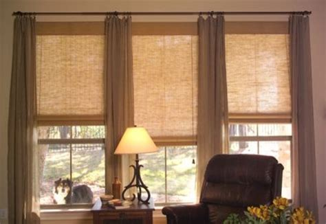 living room shades contemporary window