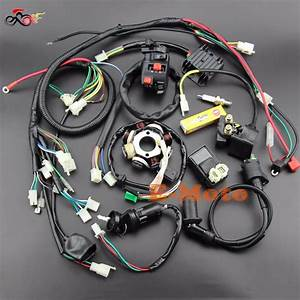 Buggy Wiring Harness Loom Gy6 Engine 125 150cc Quad Atv Go Kart Kandi Go Kart