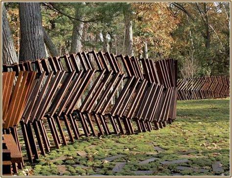 Günstige Zaun Alternative tips artistic fence design ideas alternative fences