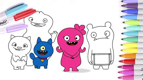 ugly dolls printable coloring pages desenhosparacolorirsite