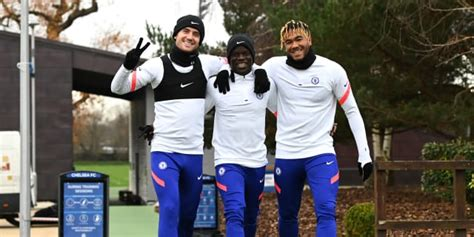 Who trained ahead of Rennes? | Official Site | Chelsea ...