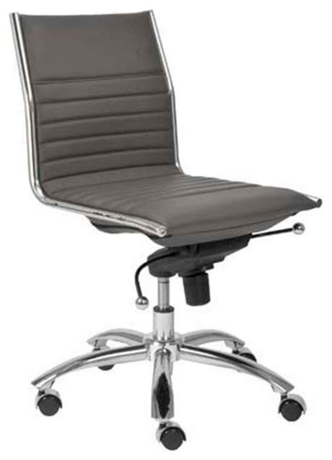 Swivel Office Chair Without Arms by Eurostyle Dirk Low Back Swivel Office Chair Without Arms
