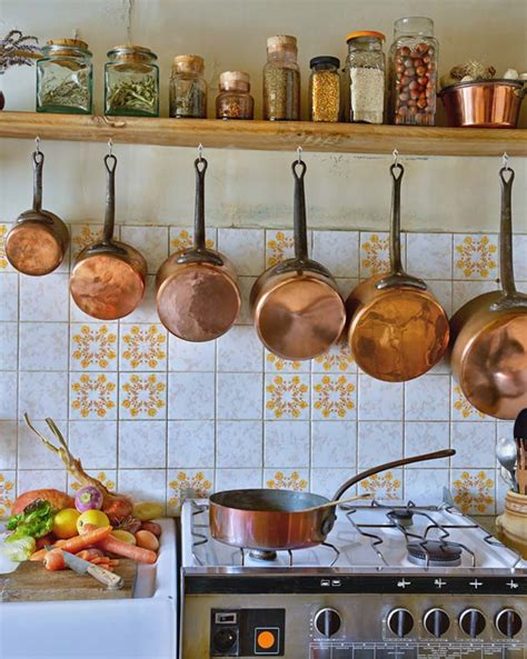 cast iron  copper cookware      kitchen