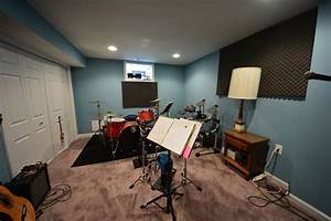 basement music room ideas basement masters With interior design music rooms
