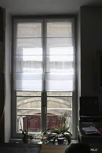 Store En Lin : le shabby chic contemporain d 39 un appartement parisien ~ Edinachiropracticcenter.com Idées de Décoration