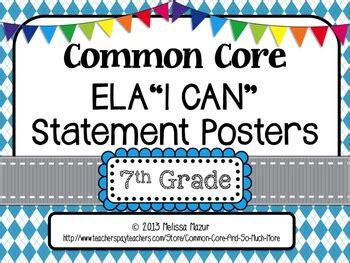 common core english language arts   posters