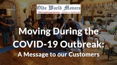 moving   coronavirus outbreak olde world movers