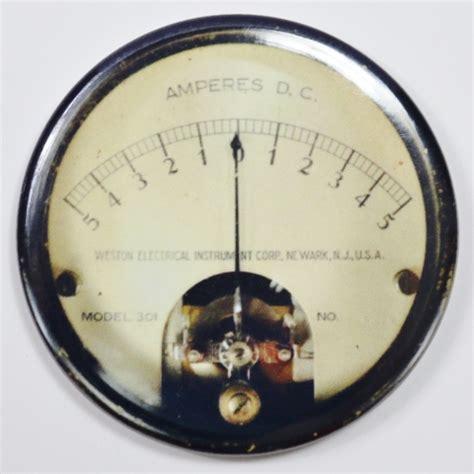 western electrical steampunk gauge fridge magnet meter