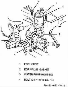 water in egr valve passage saturnfanscom forums With saturn egr valve location