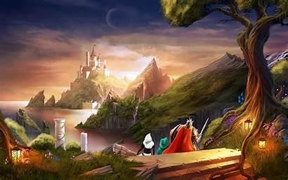 Castle Wallpapers Heading Trine 8k Desktop Backgrounds