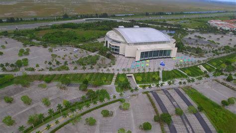 sunrise april  aerial video   bbt bank center sports arena bbt  home