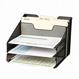 Range Document Metal : vanra metal mesh desktop file sorter organizer desk tray organize with 3 letter trays and 2 ~ Teatrodelosmanantiales.com Idées de Décoration