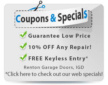 reliable garage door coupons igd renton garage door repaircall 425 533 0350