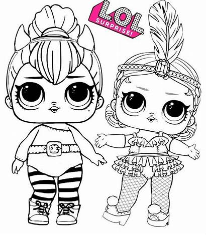 Lol Coloring Pages Surprise Doll Spice Showbaby