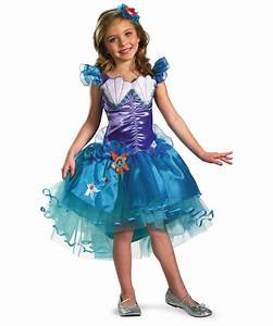 Ariel Disney Tutu Kids Costume - Disney Princess Costumes