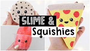 DIY CUTEST SATISFYING SLIME AND SQUISHIES! - YouTube