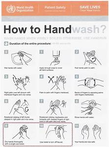 Who Hand Washing Poster  U2013 How To Wash Your Hands