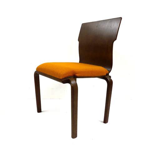 free shipping mid century bent plywood dining chairs set