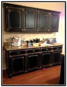 Primitive Kitchen Paint Ideas by Black Primitive Kitchen Cabinets Home Design Ideas