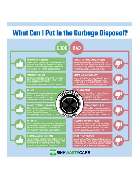Where Can I Dump My by What Can You Put In Your Garbage Disposal