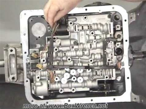 automatic transmission valve body install le shift