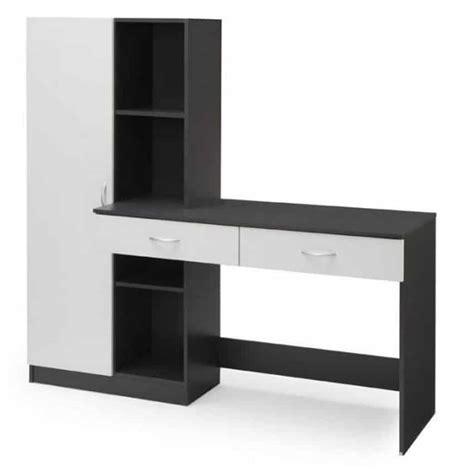 bureau c discount bureau 160 cm optim gris à 133 95 sur cdiscount