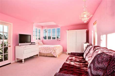 pretty pink bedroom designs  teenage girls