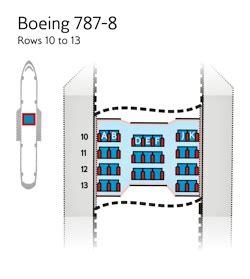 reservation siege airways plans de cabines traveller plus sièges