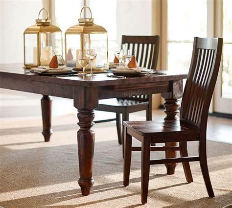 pottery barn kirkwood dining table sumner extending dining table pottery barn