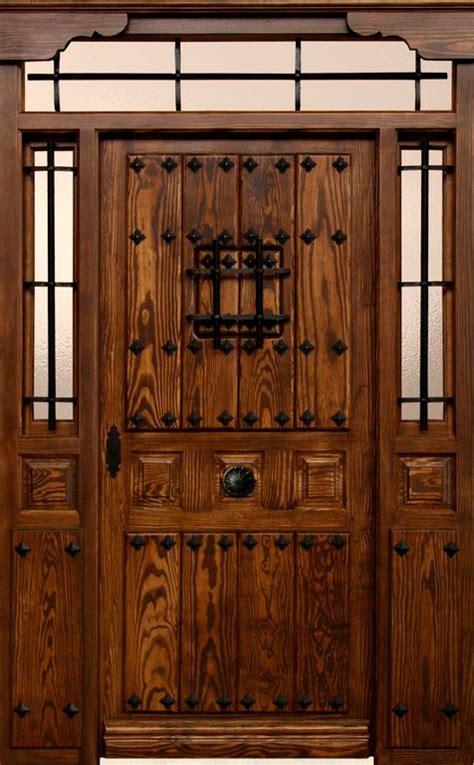 puertas de exterior rusticas mm carpinteriacom