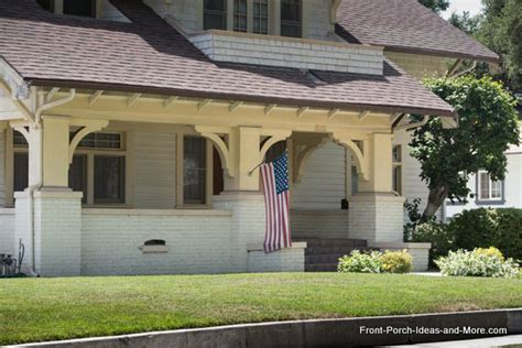 craftsman style porch south pasadena california front porch ideas craftsman